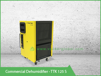 commercial dehumidifier - TTK 125S Trotec VackerGlobal