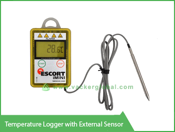 Temperature Logger with External Sensor VackerGlobal