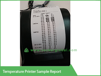 Temperature Printer Sample Report-vacker global