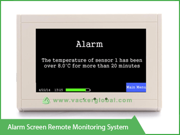 alarm screen remote monitoring system VackerGlobal