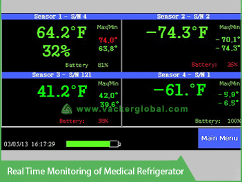 Real Time Temperature Monitoring for Medical Refrigerator VackerGlobal