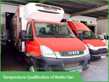 Temperature Qualification of Reefer Van Vacker Global