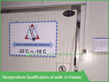 Temperature Qualification Walk-in Freezer Vacker Global