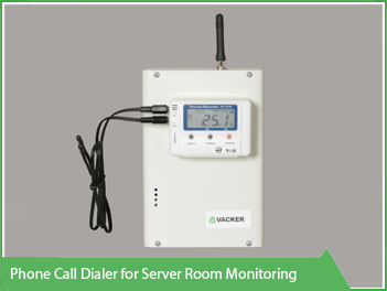 Phone Call dialer for server room monitoring