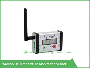 warehouse temperature monitoring sensor vackerglobal