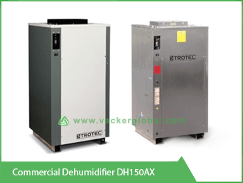 Commercial Dehumidifier DH150AX vackerGlobal