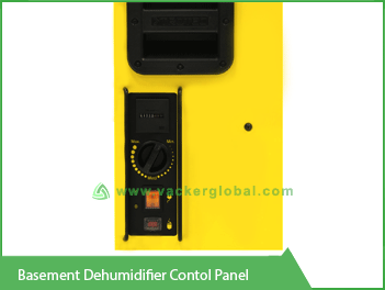 Basement Dehumidifier Control Panel VackerGlobal