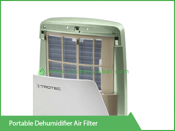 Portable Dehumidifier Air Filter VackerGlobal