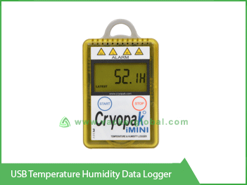 USB Temperature Humidity Data Logger Vacker Global