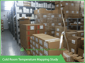 Cold Room Temperature mapping Study VackerGlobal