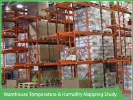 Warehouse temperature and humidity mapping study VackerGlobal