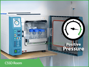 cssd-room-positive-pressure