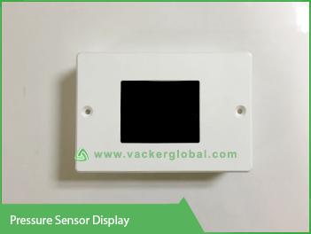 pressure sensor display