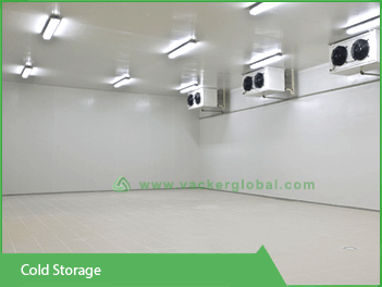 Cold storage for industries