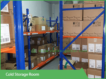 Cold storage for pharma storage