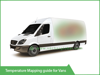 Vacker temperature mapping guide for Vans
