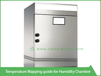 Vacker temperature mapping guide for humidity chamber