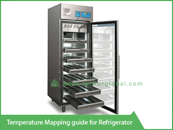 Vacker temperature mapping guide for refrigerator