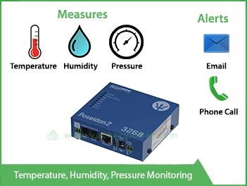 Temperature Humidity Pressure Measuring Device