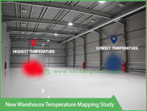 New Warehouse Temperature Mapping Study Www Vackerglobal Com
