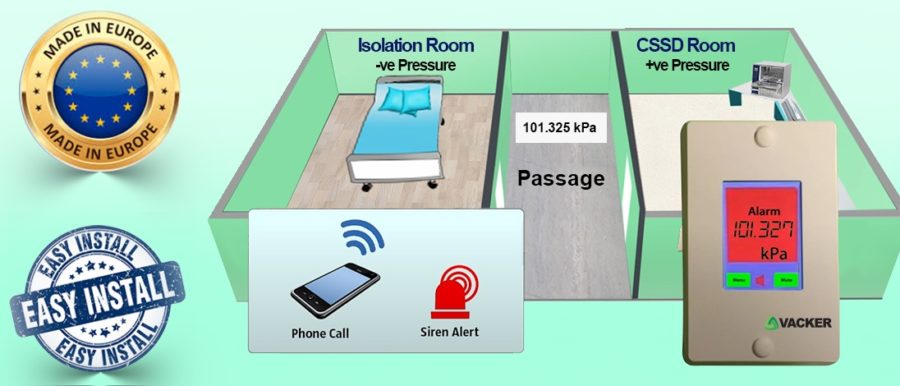differential-and-negative-room-pressure-sensor-for-isolation-room